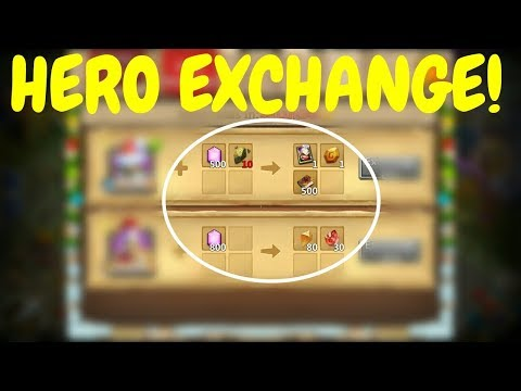 Hero Exchange Is Finally Here L Castle Clash
