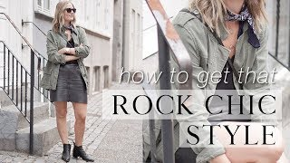 Rock chic style: how to nail it!