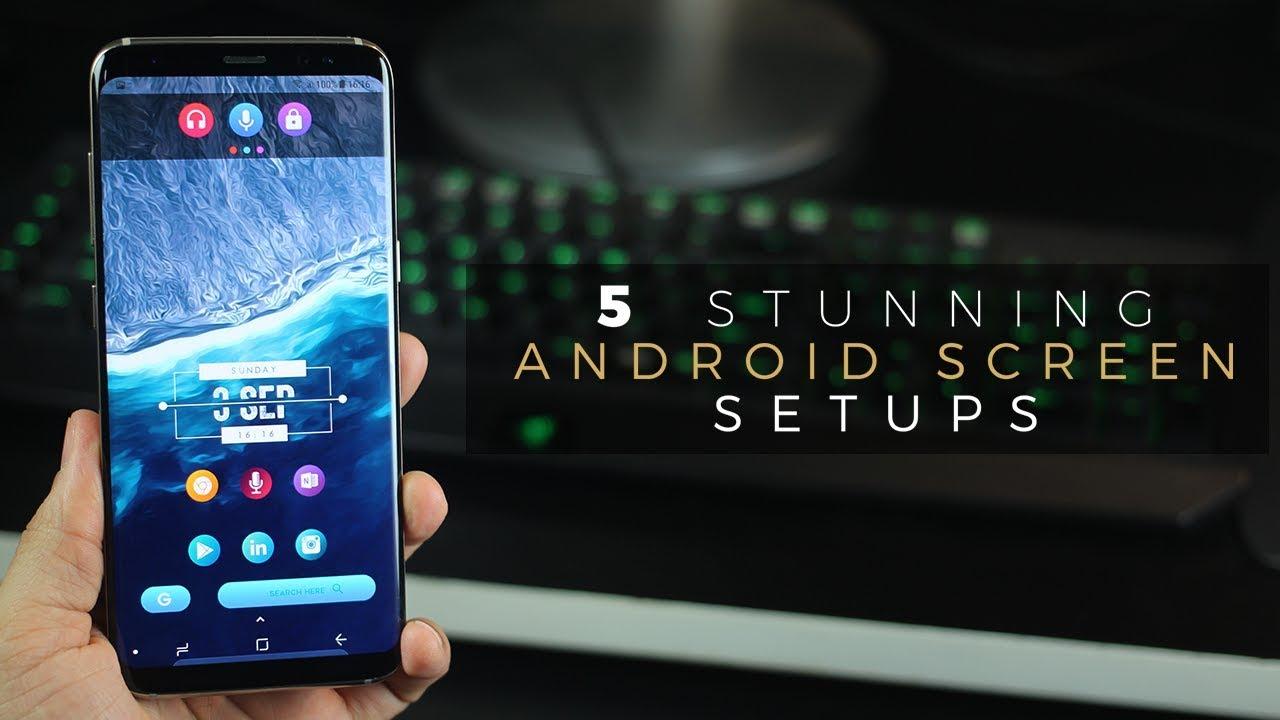 Stunning Android Homescreen Setups On Galaxy Youtube