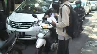 Dokumentasi sebar Brosur Aneka Nasi Campur Adexa Part 2