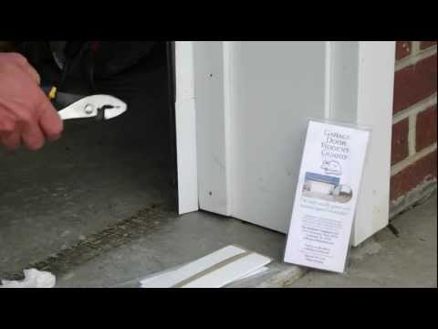 How to seal/rodent Proof Garage Door with the GARAGE DOOR RODENT GUARD