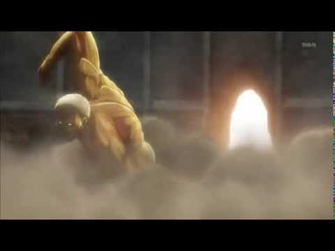 Attack On Titan Armored Titan Breaks Wall W Download Link Youtube