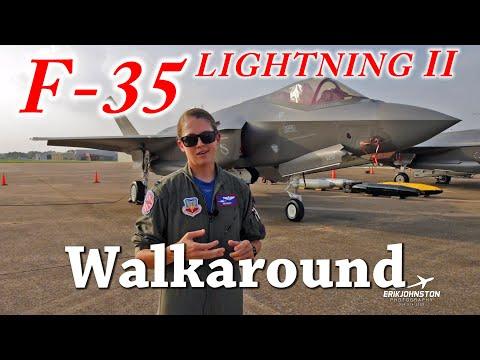 F-35 Lightning Walkaround Tour