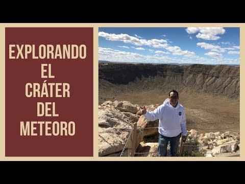 ¡Explorando El Cráter Del Meteoro!
