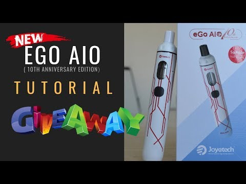 Joyetech eGo AIO 10th Anniversary Limited Edition Silver
