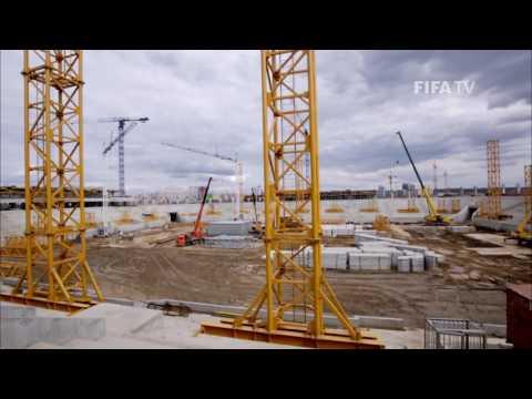 Russia 2018 Magazine: A 'unique' new World Cup stadium