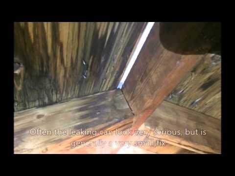 Ridge Vent Leak In Roof Youtube