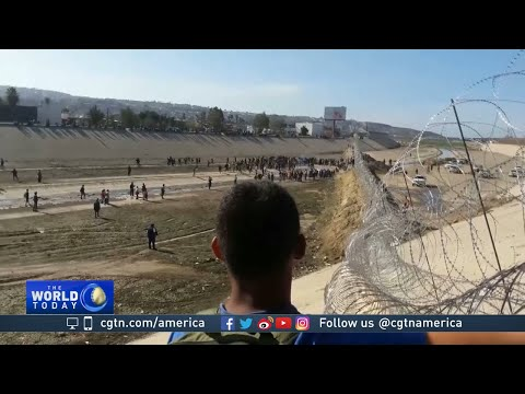 Migrants arrested on both sides of U.S.-Mexico border after desperate attempt to cross