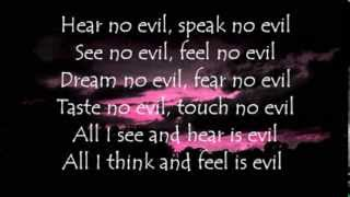 Demons & Wizards - My Last Sunrise (/w Lyrics)