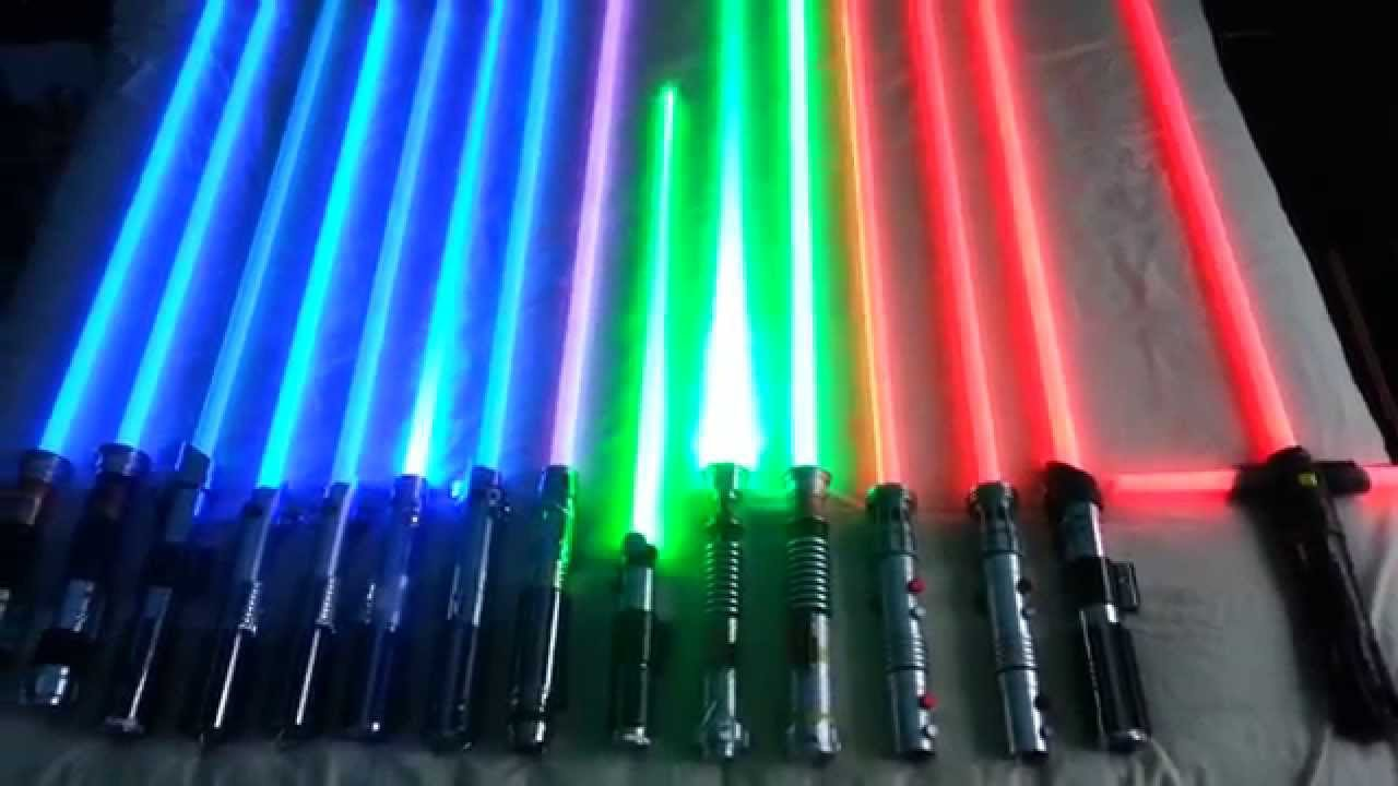 UPDATED Force Fx Lightsaber Collection (Part 2) - YouTube