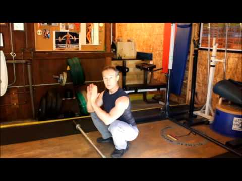Jerzy Gregorek Showing You How To Do A Perfect Olympic Squat