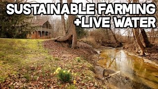 Sustainable Farming on this Mountain Chalet, Horse Property, 42 acres, Creek, Barns, Workshop