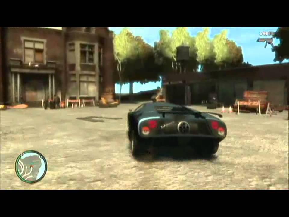 GTA 4 Secret Car Locat...