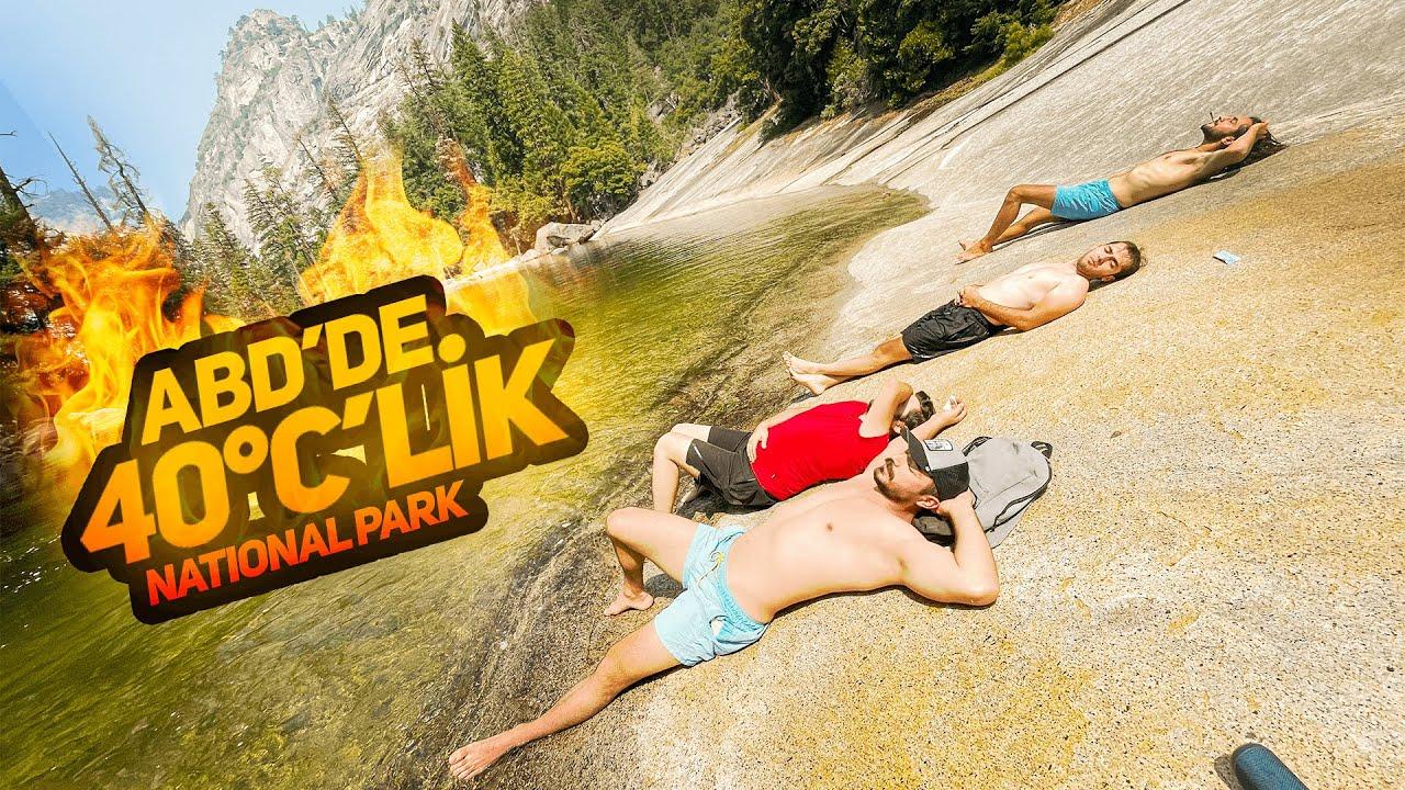 Şelale'de Talihsiz Kaza Sonunda Kayalara Girdim - $550'lık Drone Ağaçta Kaldı. @Yosemit Park -3