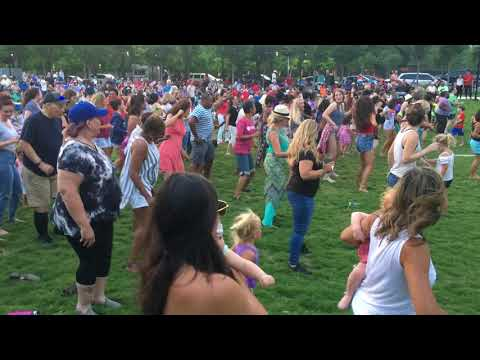 Line Dancing • Sunday Twilight  Concert • Myriad Garden Park OKC 6/10/2018