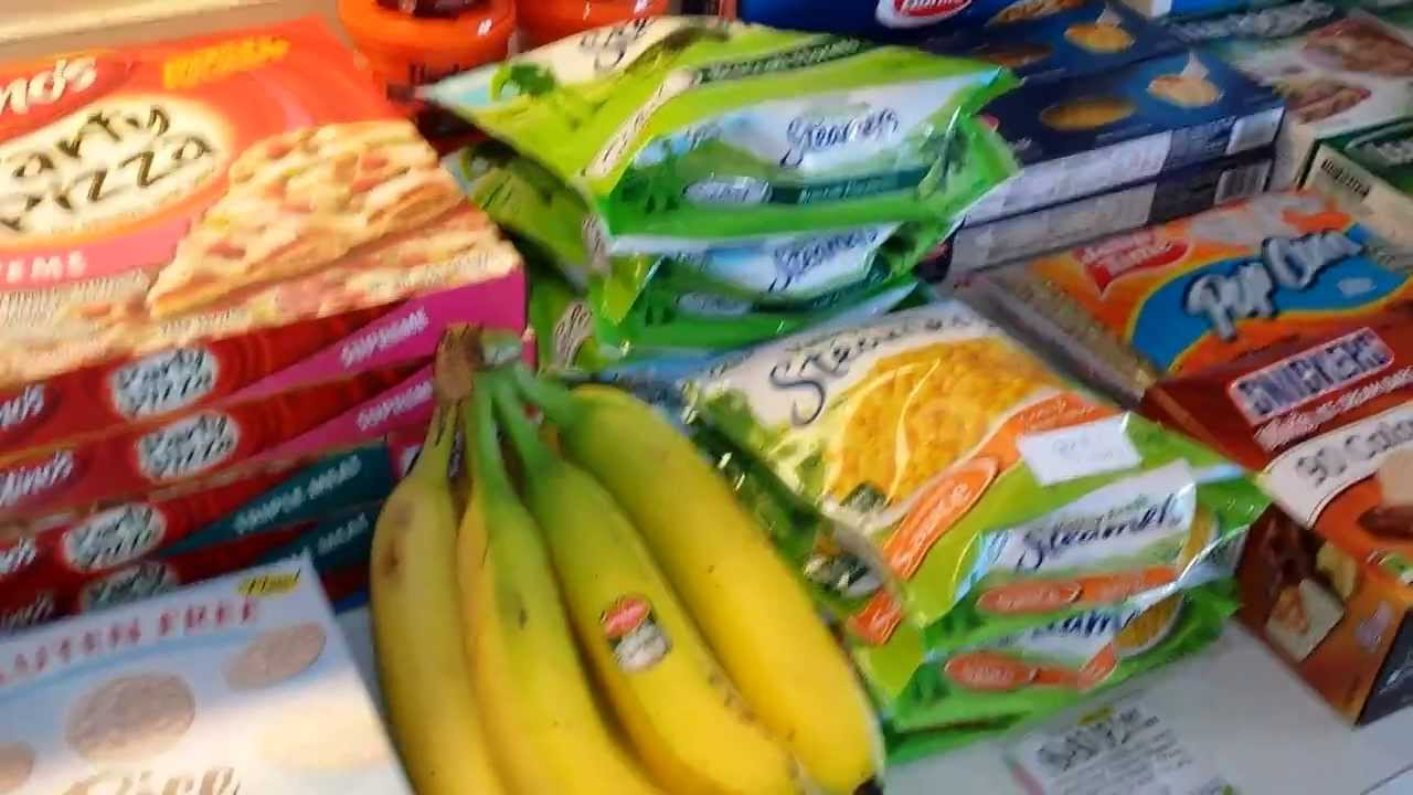 Walmart Coupon Haul For Food Items For Preppers And Stockpiles