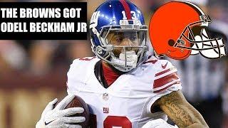The Browns Got Odell Beckham Jr