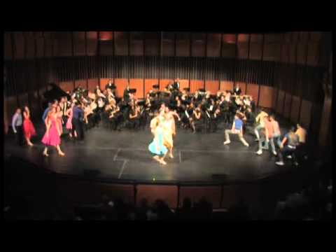 "MSU Wind Ensemble & BFA Dancers  Performing ""Mambo"" from West Side Story"