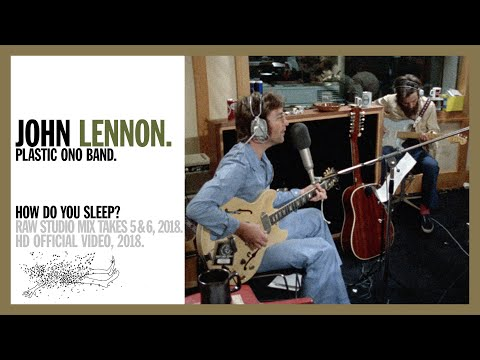 How Do You Sleep? (Takes 5 & 6, Raw Studio Mix Out-take) - John Lennon & The Plastic Ono Band