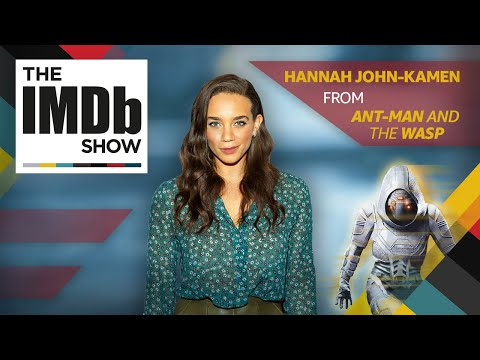 'Ant-Man and the Wasp' Star Hannah John-Kamen on Ghost and Steven Spielberg   The IMDb Show