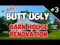 Barn House Renovation - New Doors & Metal Siding