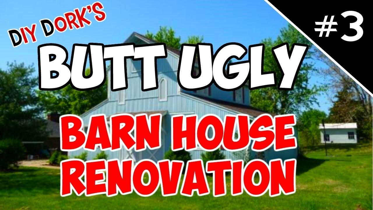 Barn House Renovation New Doors Amp Metal Siding Youtube