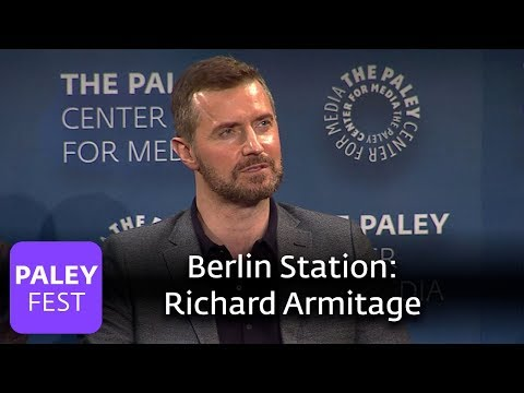 Berlin Station  Richard Armitage vs Daniel Miller