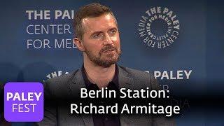 Berlin Station - Richard Armitage vs Daniel Miller