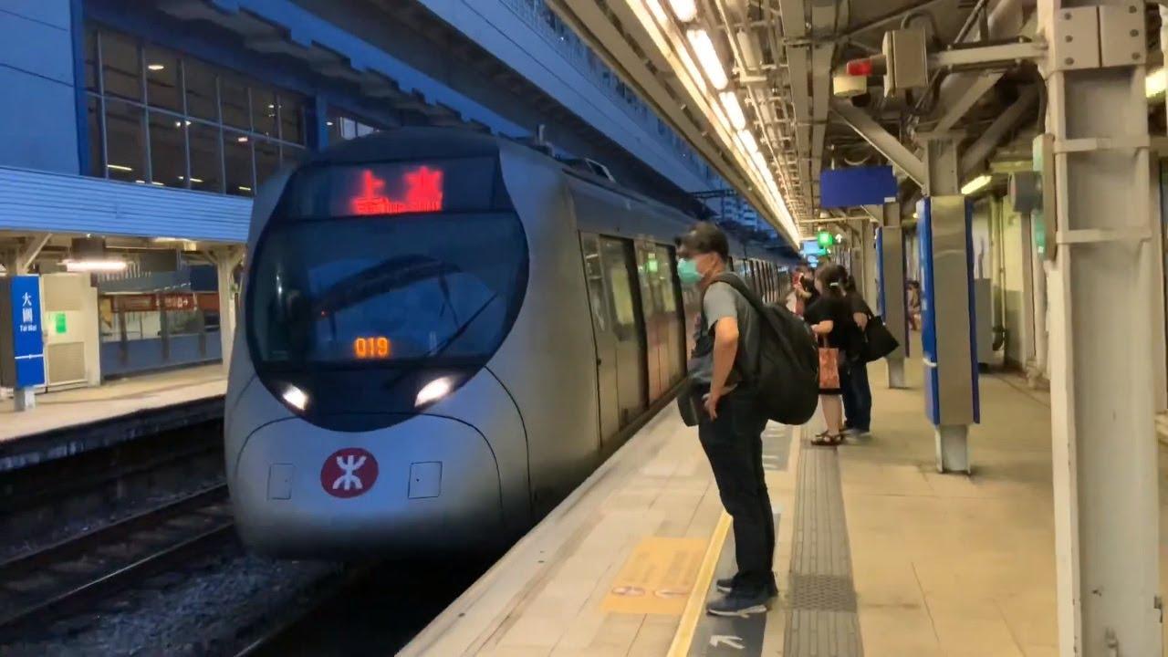 [多啦A夢] 東鐵綫 SP1900 往上水列車進出大圍站 - YouTube