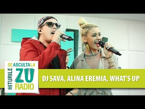 DJ Sava feat. Alina Eremia & What's Up - Dulce Amar (Live la Radio ZU)
