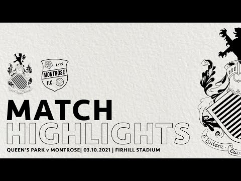 Queens Park Montrose Goals And Highlights