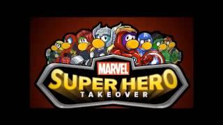 CLUBPENGUIN- MUSICA DE LA FIESTA DE SUPER HEROES 2012