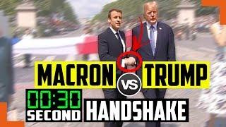 How Trump's Handshake 🤝 Dominated French President Macron - Body Language Secrets