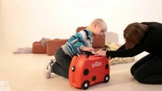 Видеообзор чемодана Trunki от KidsReview