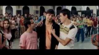 Fighting Scene Of Padam Bhola In Aamir Khan's ,jaane Tu Ya Jaane Na ,..