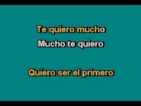 Patrulla 81   Te Quiero Mucho Karaoke