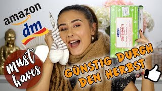 GÜNSTIGE HERBST MUST HAVES 2019 🍁🍂| DROGERIE, FASHION, LIFESTYLE... | Sara Isabel