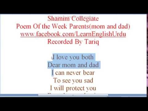 top three Poems For Parents Must Watch and Say sorry to Your mom and dad