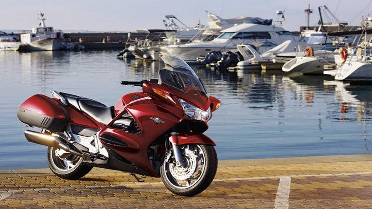 Honda ST1300 Pan European - 2014 - YouTube
