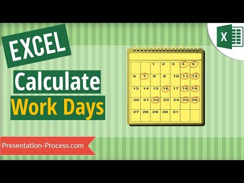 How to Calculate Work Days in Excel (Exclude Holidays & Weekends) thumbnail