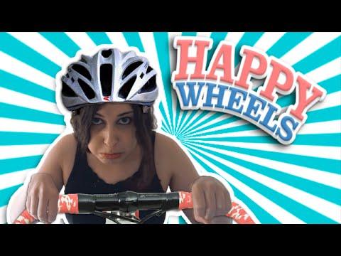 Happy Wheels #1 - DES FOUS SUR ROUES !