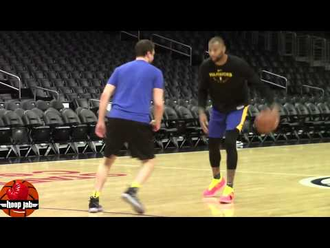 DeMarcus Boogie Cousins Warriors Practice Shooting Workout In LA. HoopJab NBA