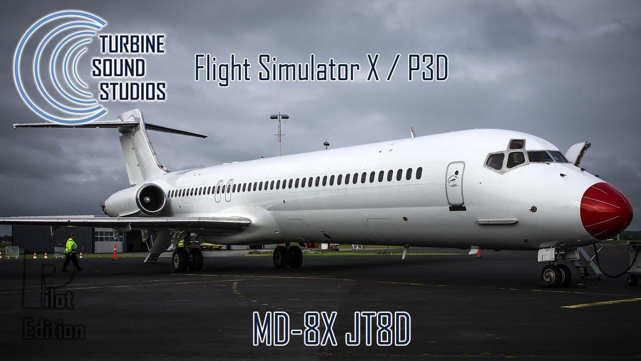 simMarket: TURBINE SOUND STUDIOS - MD-8X JT8D PILOT EDITION