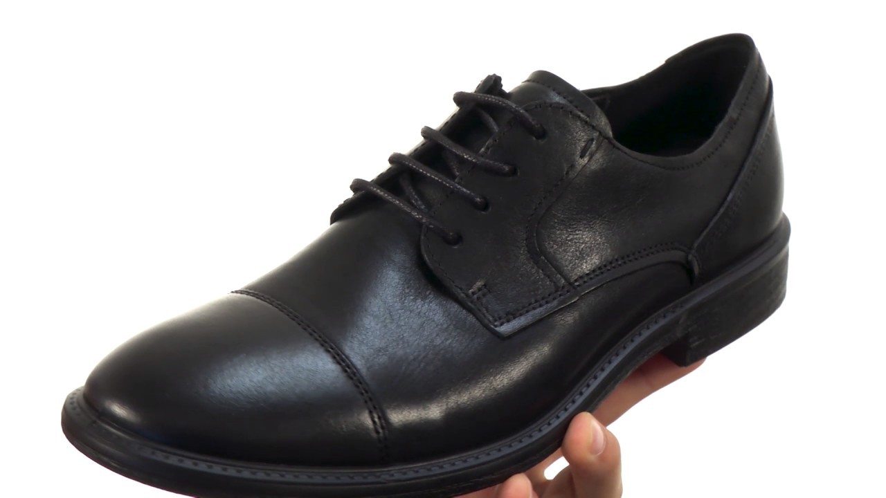 ECCO Knoxville Cap Toe Tie SKU 8868524 - YouTube 3cae499a404
