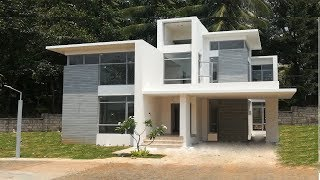 Modern Contemporary Style House 1000 Sft for 10 lakh | Elevation | Design | Interiors
