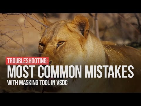 Troubleshooting: most common mistakes with masking in VSDC