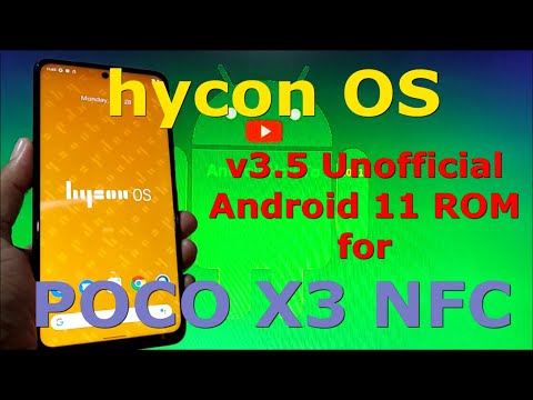 HyconOS v3.5 Unofficial for Poco X3 NFC (Surya) Android 11