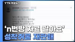"""""""박사방·n번방 자료 팔아요""""...성착취물 재판매한 20대 구속 / YTN"""