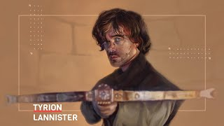 Tyrion Lannister from Game of Thrones Speedpaint