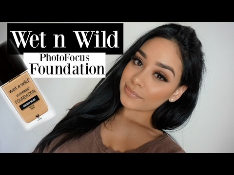 Wet n Wild Photo Focus Foundation First Impression + Review